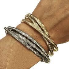 cartier jewelry bracelet images Cartier diamond gold trinity bracelet for sale at 1stdibs jpg