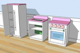 kitchen gif ana white old play fridge narrow diy projects