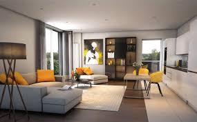 Livingroom Glasgow by Savills Plot 92 The Botanics Glasgow G12 8dq Property For Sale