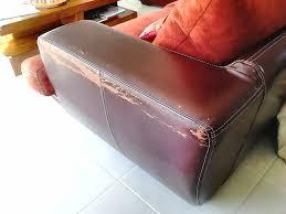 reparation canapé cuir réparation canapé en nubuck sofolk