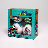 mario world 4 pack ornaments for collectibles gamestop