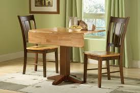 unfinished hardwood square drop leaf dining table