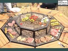 Firepit Bbq Pit Grill Table Creative Multi Purpose Jag Grill Firepit Bbq
