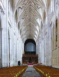 Cathedral Interior Winchester Cathedral Interior Showing The Choir Screen