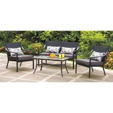 4 piece patio furniture sets mainstay patio furniture home outdoor decoration