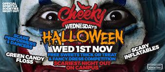 cheeky wednesday halloween fright night