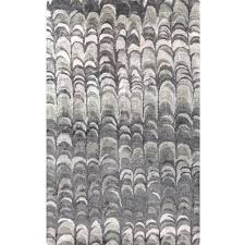 Silk Area Rugs Grey Abstract Scallop Silk Rug Buy Luxury Area Rugs