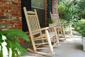 Rocking Chair Patio Furniture by Double Back Oak Rocking Chairs Set Porch Swings Patio Swings