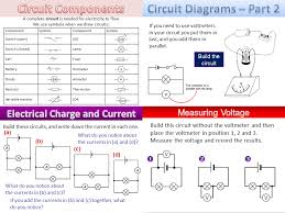 circuit diagrams and symbols by amcooke teaching resources tes