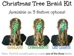 christmas tree braid oh my creative