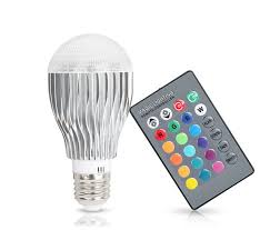 color changing light bulb with remote magic color changing led light bulb with remote control new