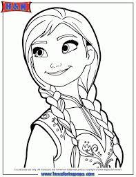 disney frozen coloring pages princess anna 16479