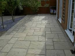 paving slab ideas cheap garden paving small patios with paving
