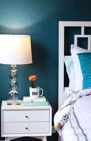 New Bedroom Paint Color  Painting Lessons Learned Teal Walls - Turquoise paint for bedroom