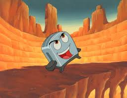 Brave Little Toaster Pixar Image The Brave Little Toaster Production Cel The Brave Little