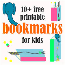 10 free printable bookmarks for kids ausdruckbare lesezeichen