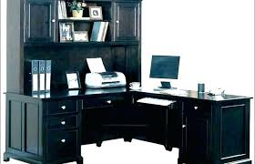 Modern White Desk With Hutch Keyboard Tray X L Shaped New Used