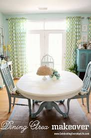 How To Set A Dining Room Table Dining Room Table And Chairs Makeover With Sloan Chalk Paint