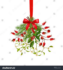 hanging bunch christmas new year vector stock vector 514229425