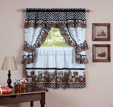 How To Make Your Own Kitchen Curtains by Black And White Kitchen Curtains 10 Best Diy Kitchen Remodeling