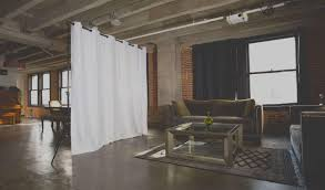How To Make A Curtain Room Divider - roomdividersnow create privacy and divide your space with ease