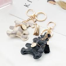 fashion key rings images Iparam 2017 new fashion key chain accessories tassel key ring pu jpg