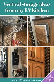 rv kitchen cabinet storage ideas 480 rv organization storage ideas in 2021 rv