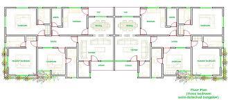 semi detached floor plans 3 bedroom semi detached floor plan home plans ideas