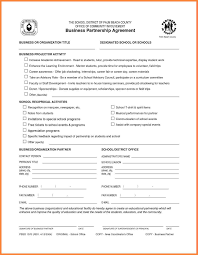 8 business partner agreement template bussines proposal 2017