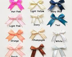 satin ribbon bows satin ribbon bow etsy