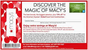 macys thanksgiving coupon chicago flower garden show