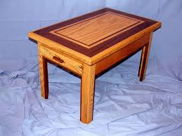 Red Oak Table by Hand Made Red Oak U0026 Walnut Wood Furniture Table By Pfl Woodworking