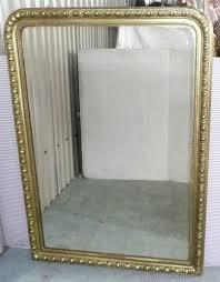 Large Arched Wall Mirror Antiques Atlas A Large French Gilt Arched Over Mantle Mirror