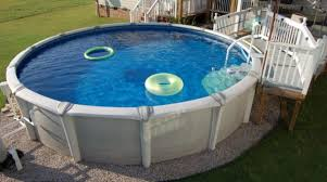 Backyard Deck Prices Above Ground Pool Cost Sizes Pumps In Deck Plans Install An Design