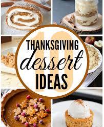thanksgiving dessert ideas clutter