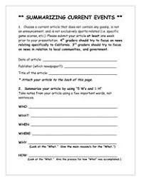 9 best images of current event article worksheet current events
