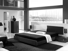 black and white bedroom ideas in home interior design with home decor large size awesome black white glass wood modern design bedroom decorating ideas cool