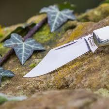 barlow classic stag handle pocket knife handmade in uk