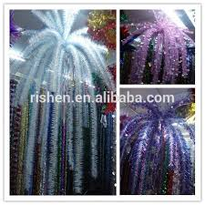 wired pvc tinsel garland tinsel garland wholesale buy