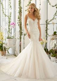 beaded wedding dresses intricate beaded embroidery on tulle mermaid morilee