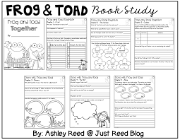 linking science and literature with frog and toad just reed