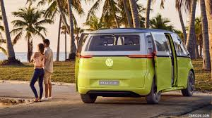 volkswagen concept van 2017 volkswagen i d buzz concept rear hd wallpaper 5