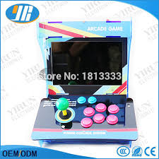 play table board game console 10 4 lcd mini table top acrylic cabinet with new board 999 in 1