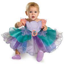 Infant Mermaid Halloween Costume Baby Disney Princess Dress Ebay