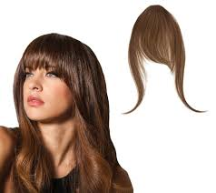 as seen on tv hair extensions hairdo effortless clip in bangs page 1 qvc