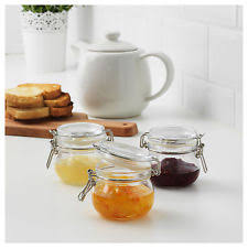 ikea glass kitchen canisters u0026 jars ebay