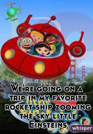 trip favorite rocket ship zooming sky