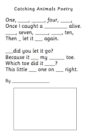 poetry lessons worksheets and ideas for reception and year 1