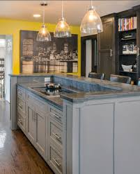 two level kitchen island designs basic u shape and two level bar top and counter top for kitchen