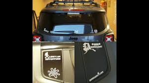 mountain jeep decals applying a new decal to my jeep renegade youtube